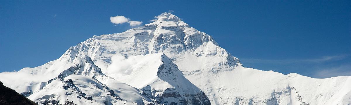 Bjerget Mount Everest
