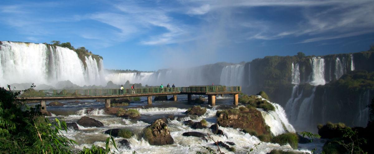 Iguassu Falls i Sydamerika