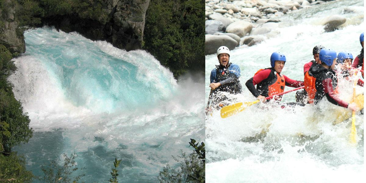 New Zealand flod og river rafting