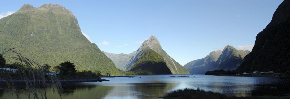 New Zealands smukke og uberørte natur, bjerge, skov og floder